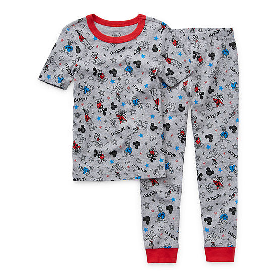 Disney Collection Little & Big Boys 2-pc. Pajama Set