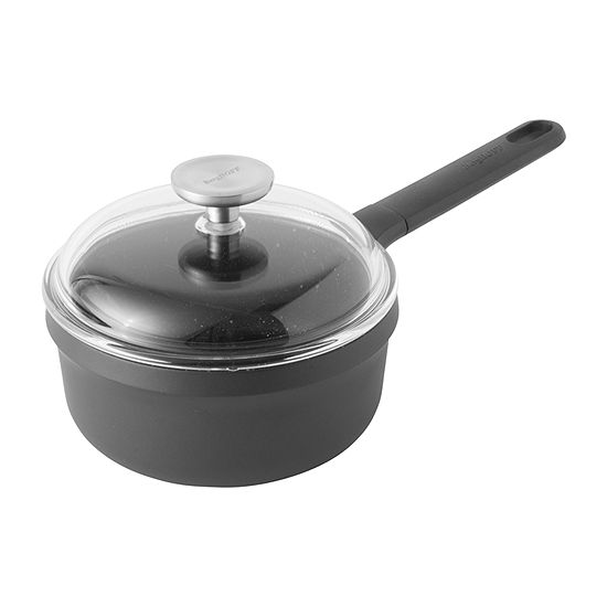 "BergHOFF Gem 7"" Non-Stick Covered Sauce Pan Aluminum Non-Stick Sauce Pan"