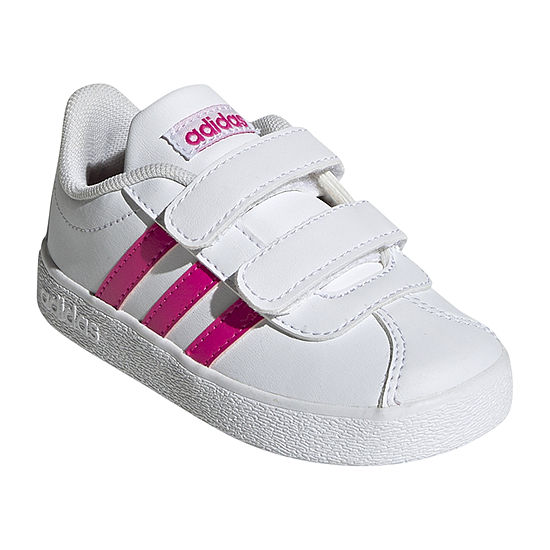 adidas Vl Court 2.0 Toddler Girls Running Shoes