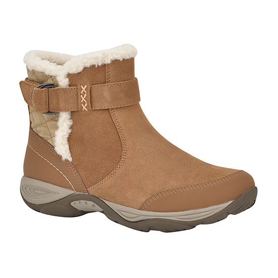 Easy Spirit Womens Elk  Flat Heel Booties