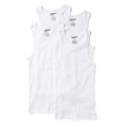 Arizona 4-pk. Sleeveless Shirts - Boys & Husky 4-20