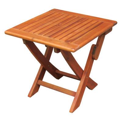 International Concepts Folding Legs Patio Console Table