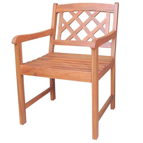 International Concepts X Back Conversational Chair