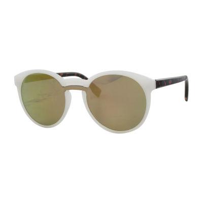 City Streets Full Frame Rectangular UV Protection Sunglasses-Womens