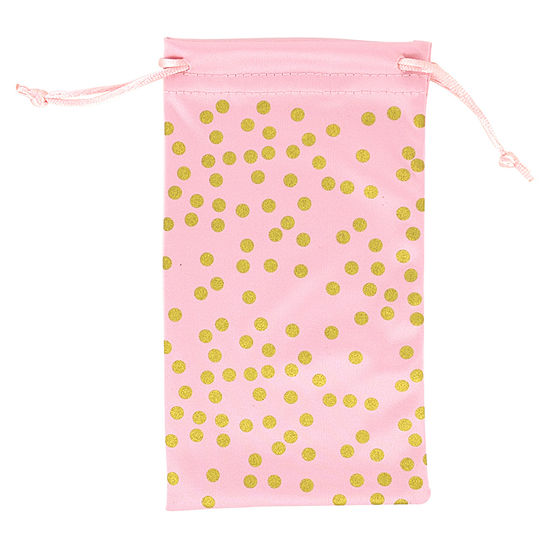 City Streets Microfiber Dots Glasses Case