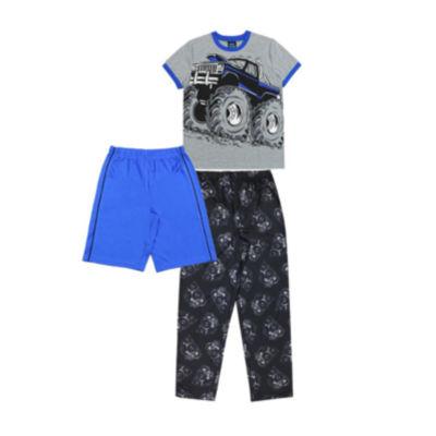 Jelli Fish Kids Boys 3-pc. Pajama Set Boys