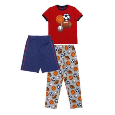 Jelli Fish Kids Jellifish Kids Boys 3 Pc Sets 3-pc. Pajama Set Boys