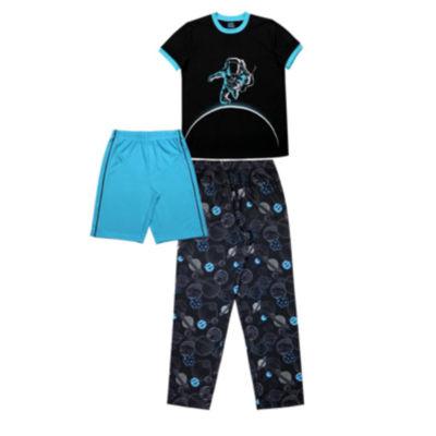 Jelli Fish Kids 3-pc. Pajama Set Boys