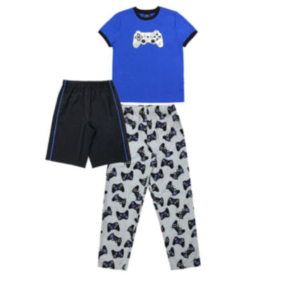 Jelli Fish Kids 3-Pcs Pajama Set - Boys