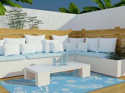 Liora Manne Capri Jellies Indoor/Outdoor Rug