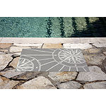 Liora Manne Frontporch Compass Indoor/Outdoor Rug