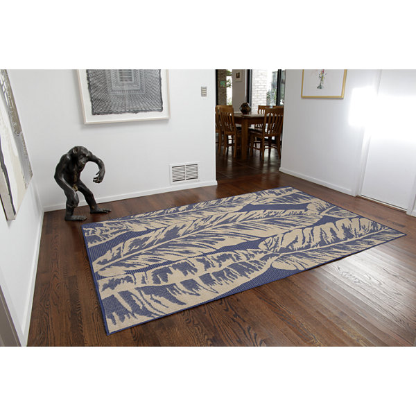 Liora Manne Terrace Banana Leaf Indoor/Outdoor Rug