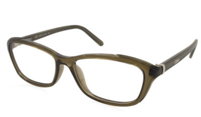 Chloe Rx Eyeglasses - Ce2649 Brown - Frame Only With Demo Lenses