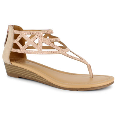 Dolce By Mojo Moxy Fay Womens Wedge Sandals