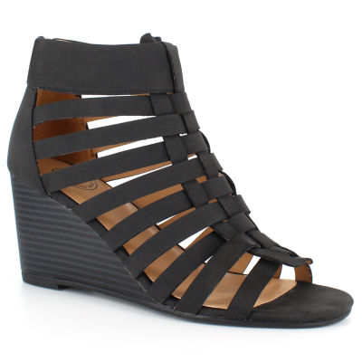 Dolce By Mojo Moxy Alsion Womens Wedge Sandals