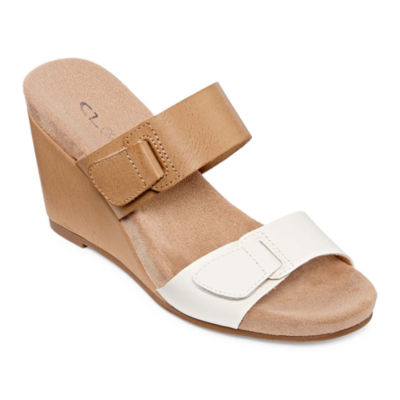 CL by Laundry Tarrin Womens Wedge Sandals
