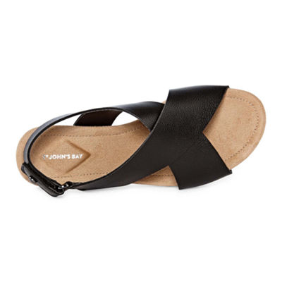 St. John's Bay Zane Womens Strap Sandals