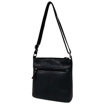 east 5th Cross Zip Leather Leather Bucket Bag