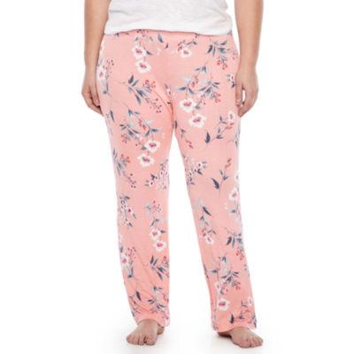 Ambrielle Knit Dots Pajama Pants