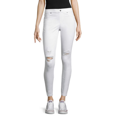 Utopia By Hue Distressed Denim Leggings