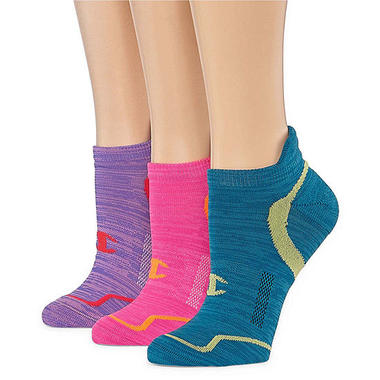 Champion 3 Pair Low Cut Socks - Womens