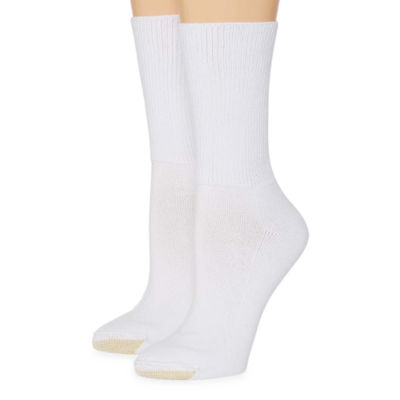 Gold Toe Wellness 2 Pair Crew Socks - Womens