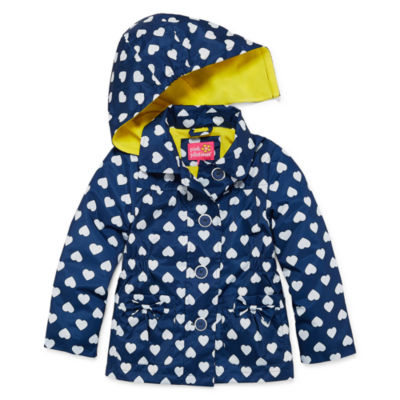 Pink Platinum Girls Raincoat-Preschool
