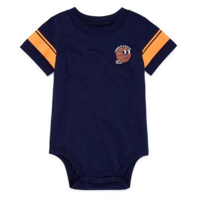 Okie Dokie Graphic Short Sleeve Bodysuit - Baby Boy NB-24M