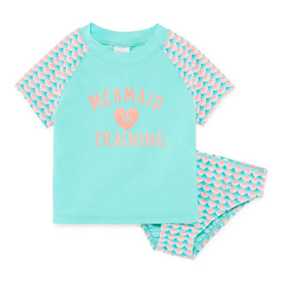 Okie Dokie Rash Guard Set - Toddler