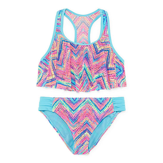 Arizona Girls Chevron Bikini Set - Girls' 4-16
