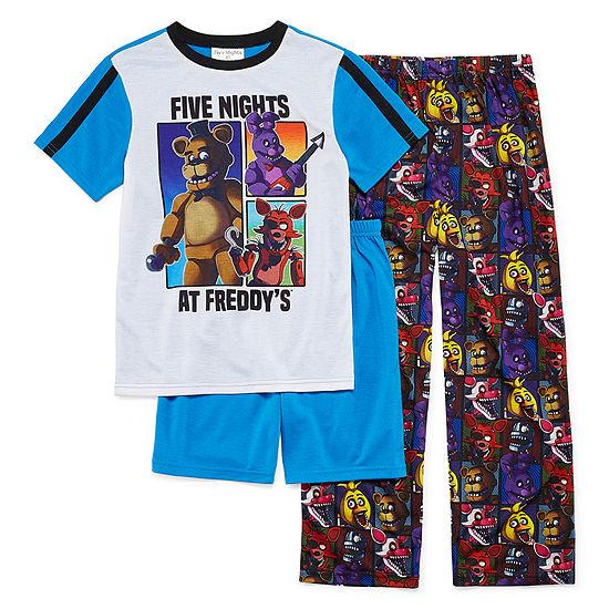 3-pc. Five Nights at Freddys Pajama Set Big Kid Boys