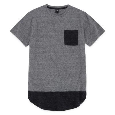 Ocean Current Short Sleeve Crew Neck T-Shirt-Big Kid Boys