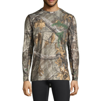 Stalker Hunting Crew Neck Long Sleeve Thermal Shirt