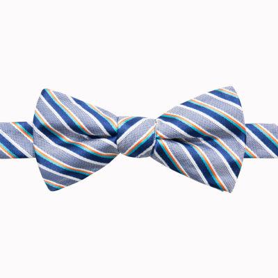 Stafford Stf Bowties Stripe Bow Tie