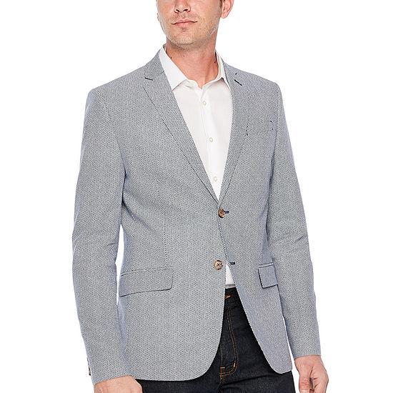 JF J.Ferrar Mens Slim Fit Sport Coat - Slim