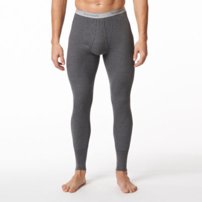 Polypropylene thermal underwear is the best base layer to keep you warm and dry because it has the lowest thermal conductivity of any traditional long underwear fabric. Thermal conductivity is the measurement used to determine the rate at which heat (from your body) is transferred through the fabric to the outside where it is lost.