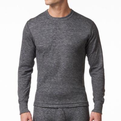 Men's 2 Layer Wool Blend Long Sleeve Shirt