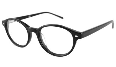V Optique RX Eyeglasses - Pier Black Frame Only With Demo Lenses