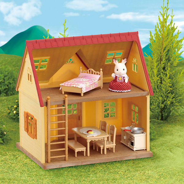 Calico Critters Cozy Cottage Home