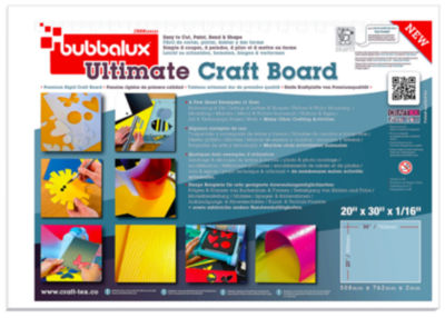 CraftTex Bubbalux Pack of 2 30X20 Ultimate Creative Craft Board