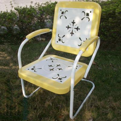 4D Concepts Metal Retro Chair