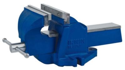 "Irwin 2026303 4-1/2"" Blue Bench Vise"
