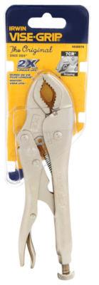 "Irwin Vise Grip 4935578 7"" Curved Jaw Locking Plier"