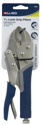 "Allied International 90540 7"" Lock Grip Pliers With Cutter"