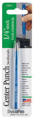 "Dasco Pro 530-0 1/4"" x 4"" Center Punch"