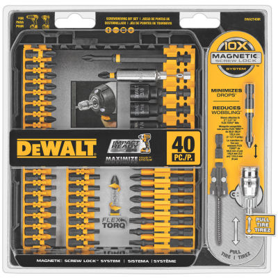 Dewalt DWA2T40IR 40 Piece Impact Ready ScrewdriverSet