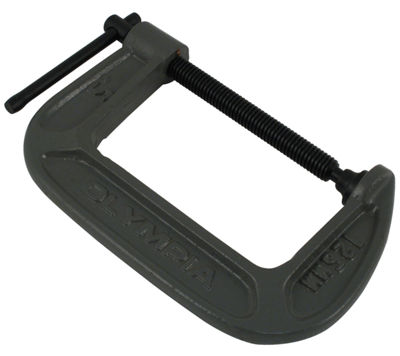 "Olympia Tools 38-145 5"" X 3-1/4"" C-Clamp"