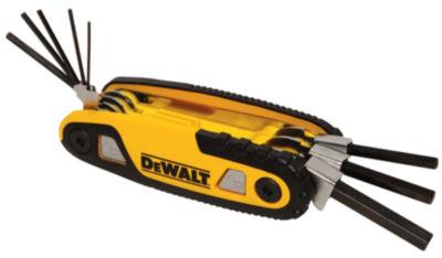 DeWalt DWHT70262M SAE Folding & Locking Hex Key Set