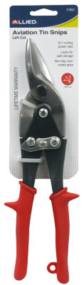 Allied International 31653 Left Cut Aviation Tin Snips