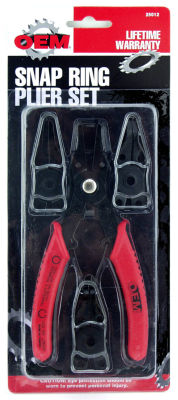 Great Neck 25012 OEM Industrial Snap Ring Plier Set